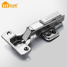 Stainless Cabinet Hinges for Kitchen Furniture Hardware Cabinet Door Cupboard Brass Hydraulic Gas Spring Damper Soft Close,Fixed(China)