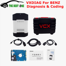 ALLSCANNER VXDIAG For Mercedes MULTI Diagnostic Tool 500G HDD DAS XENTRY For Benz VXDIAG VCX NANO Better Than MB SD C4 DHL Free (China (Mainland))