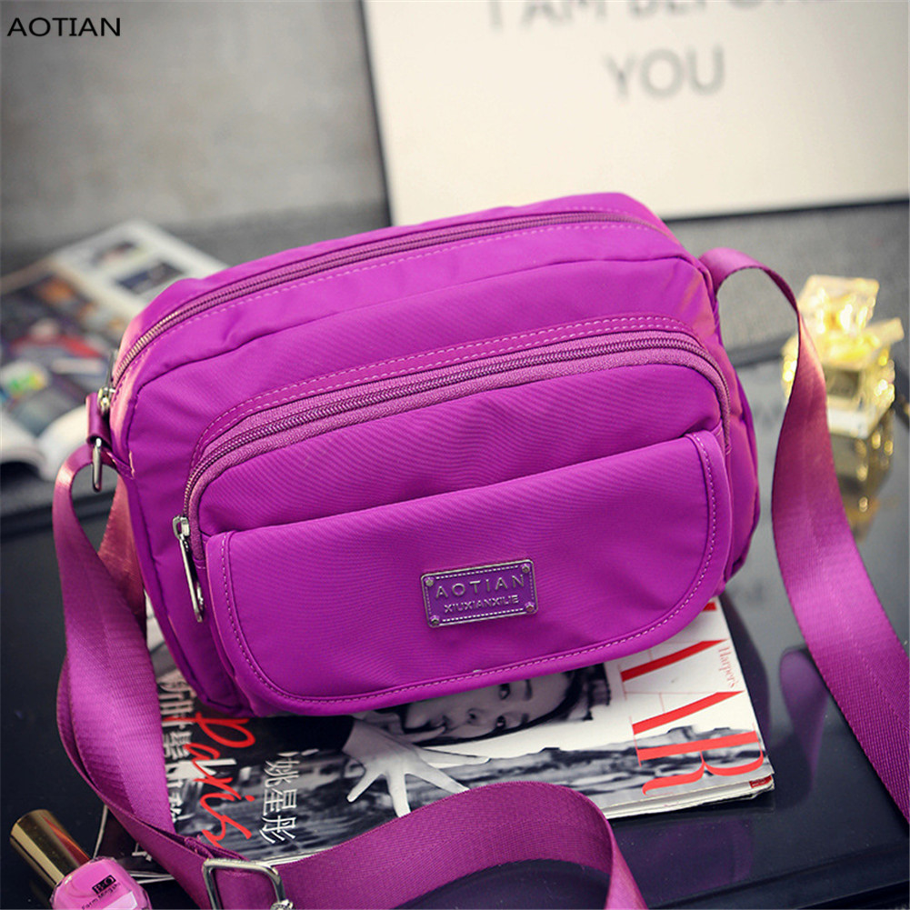 AOTIAN Womens Fashion Nylon Bag Outdoor Travel Hiking Sport Brand Small Crossbody Bag New Hot Sell High Quality + Free Shipping<br><br>Aliexpress