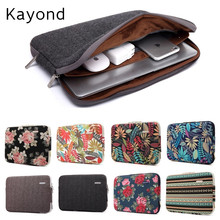 "2017 New Brand Kayond Sleeve Case For Laptop 11"",13"",14"",15"",15.6 inch Notebook Bag For MacBook Air Pro 13.3"",Free Drop Shipping"