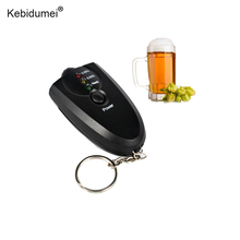 Kebidumei Professional Alcohol Breath Tester Breathalyzer Mini Alcohol Tester with Keychain Red Light LED Flashlight Hot Selling(China)