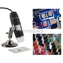 TL011 Handheld Portable USB PC Magnifier Camera 8 Led Digital 50 - 500X 2 MP Microscope Endoscope(China)