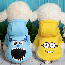 Funny Pet Dog Clothes Winter Warm Cotton Costume Puppy Coat Outfit For Dog Clothes For Small Dogs Cute Pet Clothing Hoodie 23S1(China)