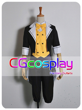 Free Shipping Cosplay Costume Vocaloid Project Kagamine Len New in Stock Retail / Wholesale Halloween Christmas