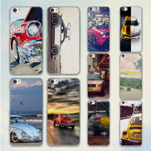 Retro summer volkswagen bus beach art design hard clear Case Cover for Xiaomi Mi 4 4s 4c 5 5s note 2 Redmi 3 3s 4A 4 Pro note 3
