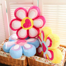 Stuffed toys 40*40cm kawaii flower plush pillow stuffed cushion sunflower plush toys valentine day gift birthday gift(China)