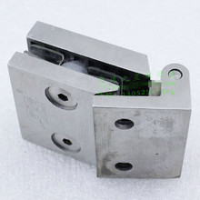 304 stainless steel glass door hinge thicken single face one side drawbench surface 200g top quality free shipping