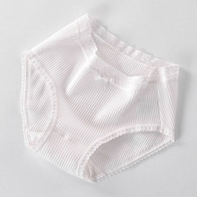 Buy Simple Cute Cotton Women Underwear Sexy Lace Woman Panties Middle Waist Calcinha Lingerie Seamless Briefs Knickers Underpants