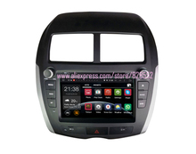 Free Shinpping Android Car DVD Player For Mitsubishi asx With 3G/wifi USB GPS BT