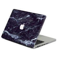 "Dark broken marble Laptop Decal Sticker Skin For MacBook Air Pro Retina 11"" 13"" 15"" Vinyl Mac Case Notebook Body Full Cover Skin(China)"