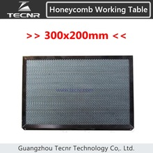 honeycomb working table 300*200MM for CO2 laser cutting machine laser equipment machine parts