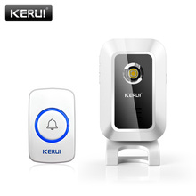 KERUI Wireless Strobe Burglar Alarm el Welcome Chime Shop Store For GSM Home Alarm System Infrared Motion Curtain Sensor