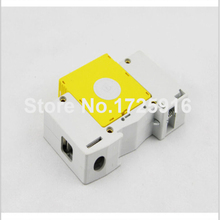 10 pieces / lot Din Rail 1P 5KA 10KA 385V AC Low-voltage SPD Home Power System Lightning Arrester Surge Protection Device(China)