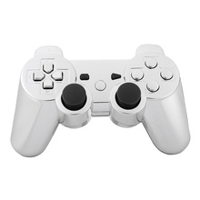 Wireless Bluetooth Controllers Gamepads for PS 3 PlayStation 3 Plating Joystick Wireless Gamepads for PS 3 Double vibration