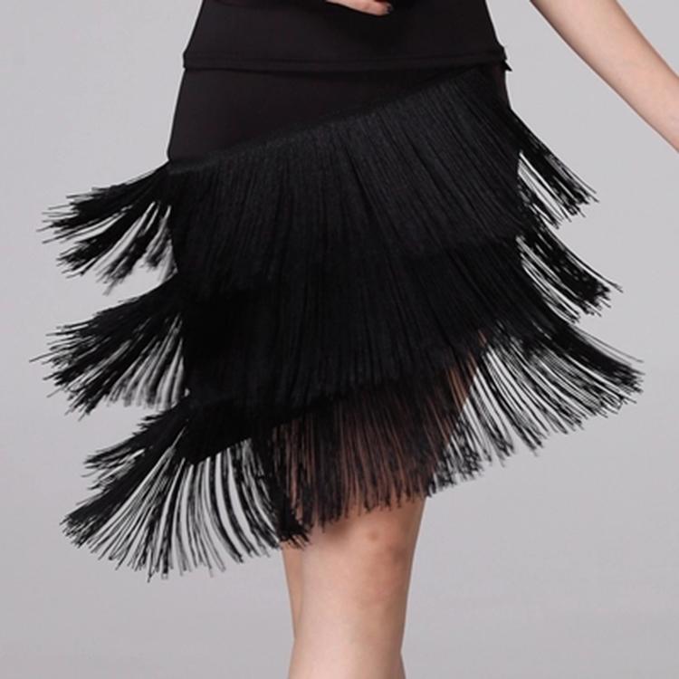 Girls Latin Dance Skirt (1)