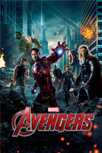 PL#93 Custom movie Avengers Age #e Home Decor modern For Bedroom Wall Poster Size 40X60cm Wall Sticker QO-720u92