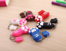 64G Cute Cat Foot Catlike Claw USB 2.0 Flash Drive Pen Drive 32GB Pendrive 16GB 8GB 4GB Flash Card Cartoon Memory Stick