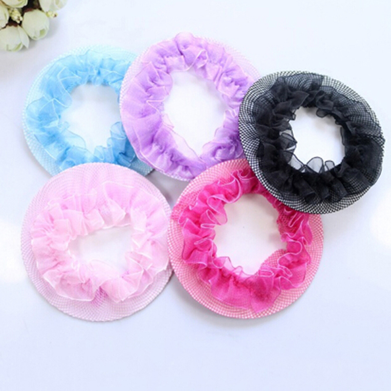Hair Invisible Hairnet Children Ballet Dance Net Pocket Hair Headdress Headband Headwear Girl Hair Accessories Hair Headpiece