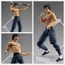 Max Factory figma #266 Kung Fu Movie Star Bruce Lee 75th ANNIVERSARY PVC Action Figure Figurine Resin Collection Model Toy Gifts