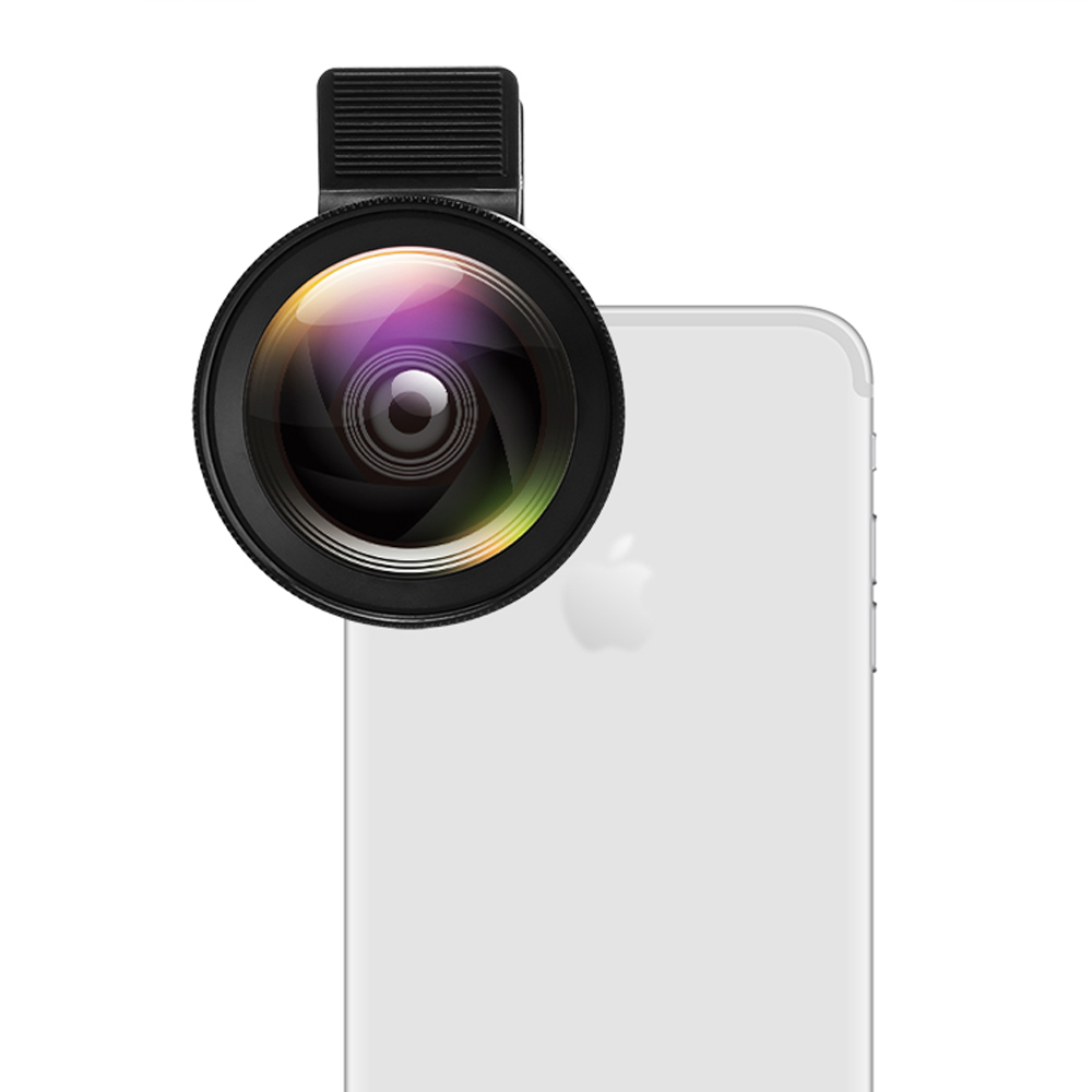 Wide Angle and Macro Lens Kit for Smartphones