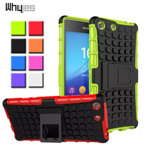 Buy Sony Xperia M5 E5603 E5606 E5653 Case Phone Cover Heavy Duty ShockProof Hybrid Dual Layer Silicone + PC Sony M5 for $3.49 in AliExpress store
