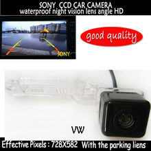 SONY CCD color Car rear view camera backup reverse camera Parking VW GOLF PASSAT TOURAN CADDY SUPERB /T5 TRANSPORTER/MULTIVAN