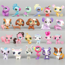 New Year Gifts Littlest Pet Shop Puppets 3-5cm Action Figures Toy Pet Shops Dolls lps Cat toys Kids Catoon Model Toys