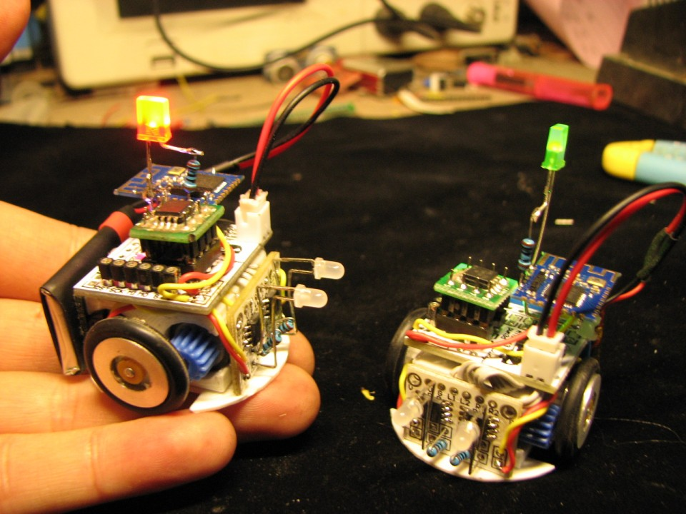 DIY mini robot DIY Kits  andriod Bluetooth 4.0 RC  soldering kits electronic diy kit robot assemble kit<br>