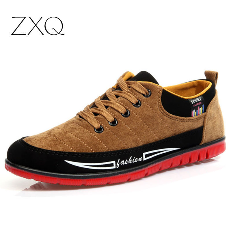2017 Fashion Casual Shoes Men Autumn Low Heel Canvas Shoes Male Red Bottom Zapatos Hombre Hot Sale<br><br>Aliexpress