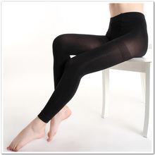 Buy Big Size Autumn Winter Warm Women Sexy Pantyhose Nylon 120D Velvet Candy Color leggings Seamless lidies