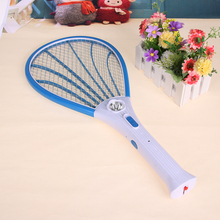 Rechargeable LED Flashlight Fly Swatter Electric Mosquito Swatter Bug Insect Electric Fly Zapper Killer Racket Pest control(China)