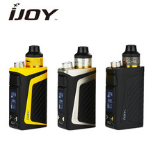 Buy Original IJOY RDTA BOX Mini 100W 2600mAh Built-in Battery100W RDTA BOX Mini Starter Kit 6ml Capacity RBM-C2 Coil IJOY Vape Kit for $49.34 in AliExpress store