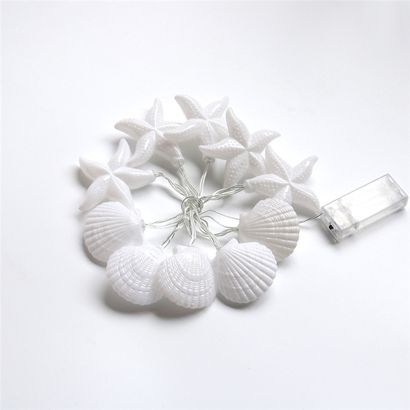 Großhandel Delicore Home Kollektion Seashells Lichterketten ...