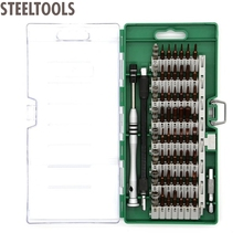 STEELTOOLS 60 in 1 S2 Alloy Magnetic Screwdriver Set Precision Driver Electronics Repair Tool Kit for Cell Phone Tablet PC