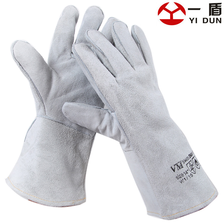 free shipping Yd175 leather long welding gloves machinery protection gloves wear-resistant cut-resistant gloves<br><br>Aliexpress