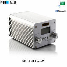 Free Shipping Hot Selling Bluetooth and PC Control NIO-T6B 6W FM Transmitter Professional Computer Audio Amplifier