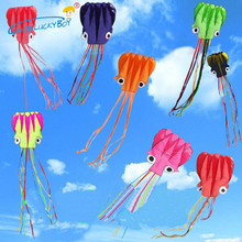 Out Door Sport Toy Whole Sale And Hotsell 4 m Single Line Stunt Software Power Kite With Flying Tools Inflatable And Easy To Fly