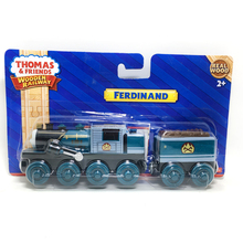 W34 free shipping Rare new ferdinand with a truck of original wooden Thomas and friend train Chinldren baby children cib