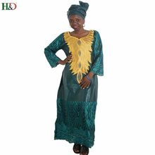 Plus Size african dresses for women lace fabric africa Cotton clothes scarf  outfit dress long robe bazin dress Africaine Femme 0bda9c8d0d88