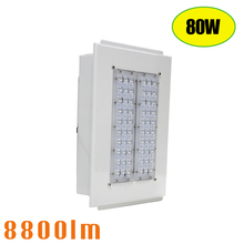 Brand New Ceiling Mounted IP65 80W LED Garage Warehouse Gas Station Canopy Lights