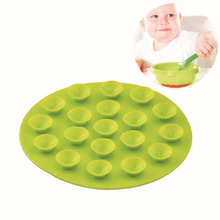 Free Shipping 2016 New Arrival Baby Accessories Antiskid Cup Mat Table Bowl Mat Wholesale(China)