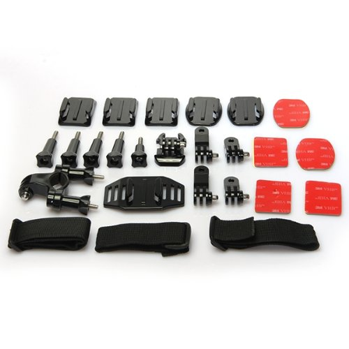 25 1 Accessory Kit Screws Support Camara GoPro Hero March 2
