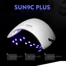 Sunuv 9C Plus 36W uv nail lamp SUN 9C 24W Nail Dryer Lamp for Nails Gel Nails UV Led Lamp Dryer Time Setting 18/15 Lamp Sensor(China)