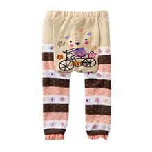 Children Kids PP Pants Long Trousers Cartoon Leggings Cotton Baby Boys Girls Leggings Wear(China)