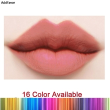 AddFavor 16 Colors Matte Lipstick Tattoo Stained Matte Lipstick Red Lip Gloss  Waterproof Non-stick Tint Liquid Cosmetic