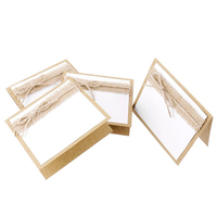 10pcs guest name card wedding party table name place cards lace guest place cards favors wedding