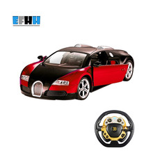 Buy ShuangYing 1:14 Bugatti Gravity Steering Wheel Remote Control RC Car Simulation Sports Car Children Toys 2.4G 6 Channels for $147.25 in AliExpress store