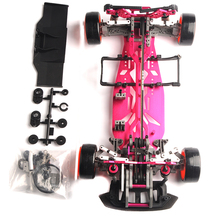 1/10 Scale Alum alloy RC Drift Frame Kit 4WD 626801APR RC Body On load Drift Racing Car accessories(China)