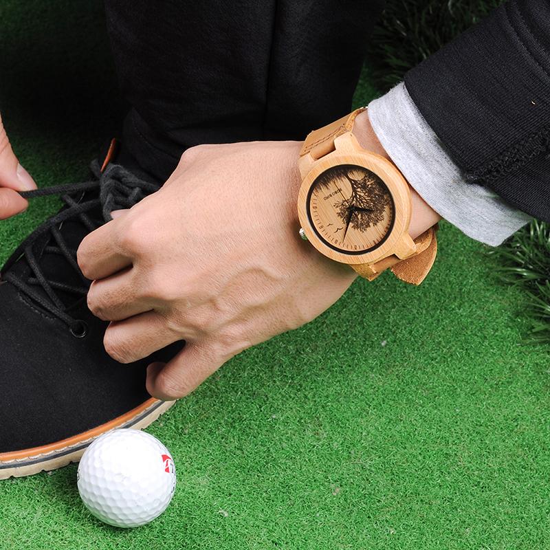 wooden men wrist watches for men bobo bird (36)
