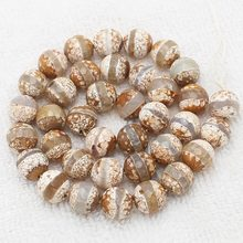 "Wholesale Faceted 10mm Coffe Fire agates Round Loose Beads 14.5""For DIYJewelry making! Mixed wholesale for all items !(China)"